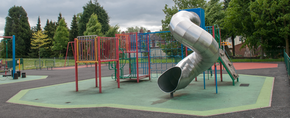 Playground at Hickman Park Wolverhampton